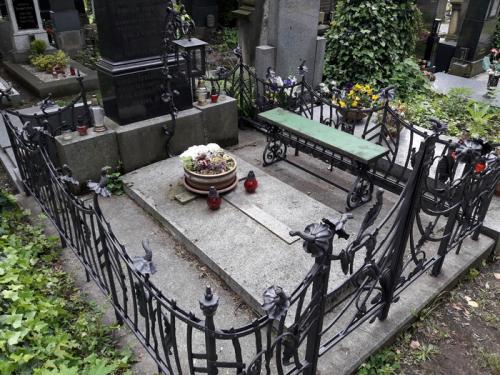 Oplocení hrobky