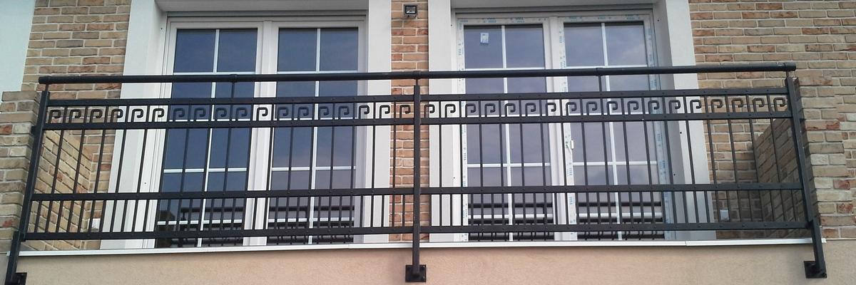 Balkonové zábradlí v Praze