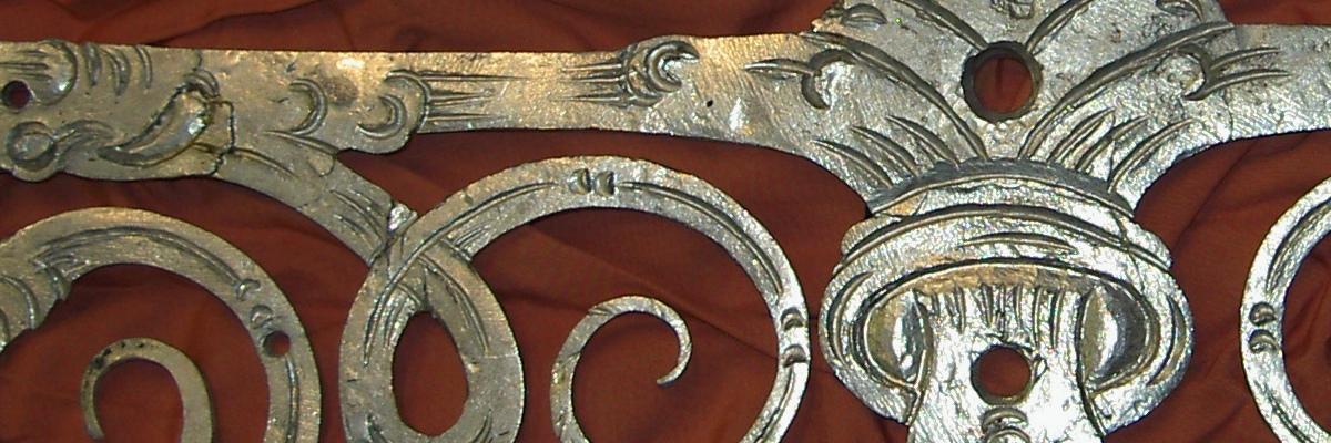 Dveřní závěs po restaurování